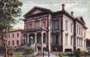 Crocker Art Gallery Sacramento California 1921