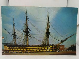 7 x Vintage Postcards of Ships Boats Hovercraft Cutty Sark P S Waverley etc