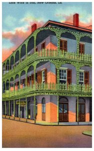 Louisianna New Orleans  Lace Work in Iron