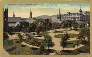 Scenic view,Dominion Square,Montreal,Quebec,Canada,00-10s