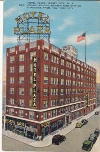 Hotel Plaza, Plaza Grill, JERSEY CITY, New Jersey, PU-1948