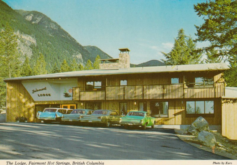 FAIRMONT HOT SPRINGS , B.C., Canada, 1950-60s; The Lodge