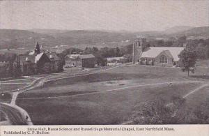Massachusetts Boston East Northfield Stone Hall Science And Russell Sage Memo...