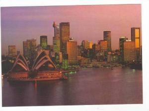 Setting sun, Sydney, Australia 60-70s