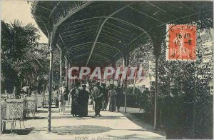 Postcard Old Vichy Gallery Covered