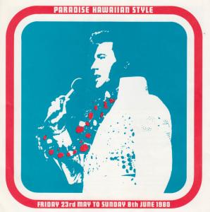 Elvis Presley Paradise Hawaiian Style 1980 Fan Club Holiday Ephemera