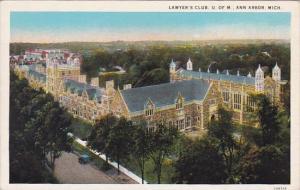 Lawyer's Club I Of M Ann Arbor Michigan