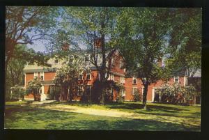 South Sudbury, Mass/MA Postcard,Wayside Inn Exterior View