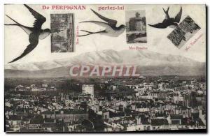Old Postcard From Perpignan Bring Him