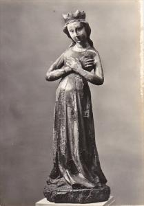 Czech Republic Expectant Holy Virgin 15th Century Galerie v Praze Photo
