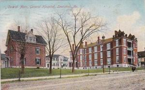 Maine Lewiston General Hospital Central Main 1910
