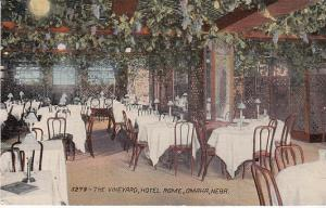 The Vineyard, Hotel Rome, Omaha  1914