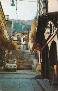 Greece Plaka Street Scene
