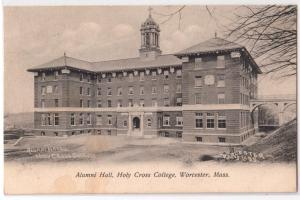 Alumni Hall, Holy Cross College, Worcester MA