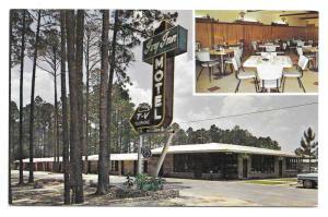 Ivy Inn Motel Nashville Georgia Vintage Postcard GA