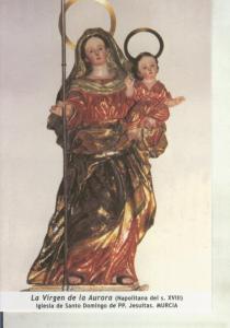 Postal 011729: Virgen Ntra Sra de la Aurora, iglesia santo domingo jesuitas d...