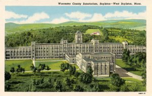 MA - West Boylston. Worcester County Sanitorium