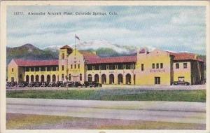 Colorado Colorado Springs Alexander Aircraft Plant
