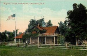 Adirondacks New York~Saranac Inn~Blagden Cottage~Porch Rocking Chair~1910 PC
