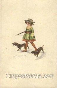 C.E.I.C. 206 Artist Signed Mauzan 1920