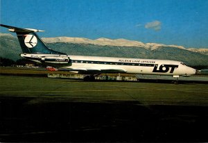LOT Polish Airlines Tupolev 134-A