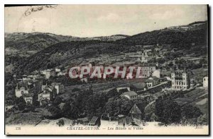 Old Postcard Chatel Guyon Hotels and Villas