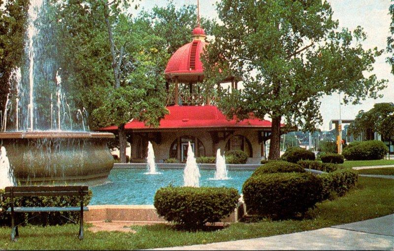 Illinois Decatur Downtown Central Park 1986