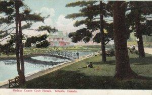 OTTAWA, Ontario, Canada, 1908;  Rideau Canoe Club House