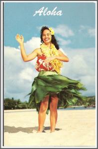 Hawaii Aloha Hula Maiden - [HI-017]