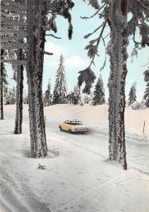 GG12021 Der Harz ein Erlebnis, Fahrt ins Schneeparadies Auto Cars Road Forest