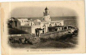 CPA AK Algérie-Guyotville-Restaurant de la Jeune France (237214)
