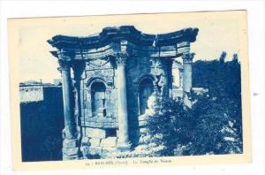 BAALBEK (Syrie now Lebanon), 1910s : Le Temple de Venus