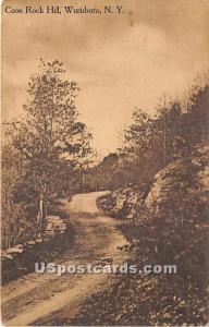 Coon Rock Hill Wurtsboro NY 1911