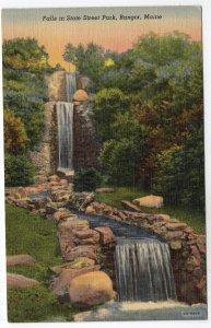 Bangor, Maine, Falls in State Street Park