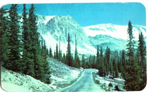 #3996.  Highway No. 130 over the Snowy Range, Wyoming