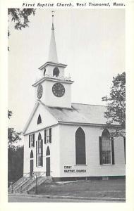 First Baptist Church West Townsend Massachusetts MA