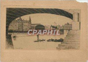 Postcard Modern London Charing Cross