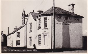 RP; LAND'S END, Cornwall, England, 1920-1930's; The First And Last Inn
