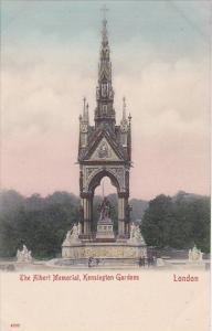 England London The Albert Memorial Kensington Gardens