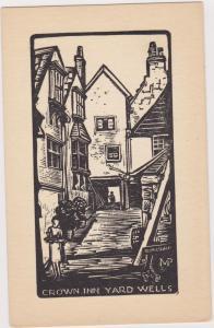 SOMERSET, England , 00-10s; Crown Inn Yard Wells