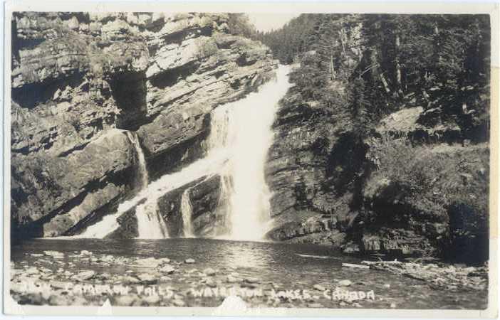 RPPC of Cameron Falls Waterman Lakes Alberta AB Canada