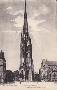 Saint-Michel Tower, Bordeaux (Gironde), France, 1900-1910s