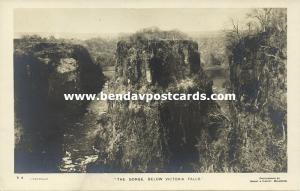 rhodesia, Victoria Falls, The Gorge (1930s) RPPC