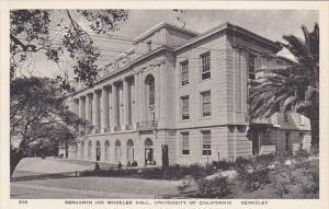 Benjamin Ide Wheeler Hall University Of California Berkeley California Albertype