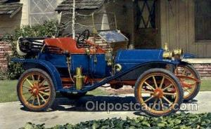 1910 hupmobile runabout Antique Classic Car, Old Vintage Post Cards Postcard ...