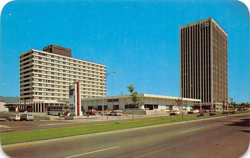 Colorado Springs~Stone Center~Antlers Plaza Hotel~Holly Sugar Building~1960 Cars