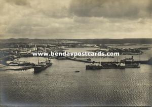 curacao, N.W.I., EMMASTAD, Oil Tanks and Tankers (1940s) Tijssen RPPC