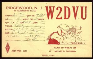 QSL from New Jersey to New Jersey W2ETI