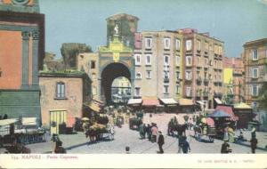 italy, NAPOLI NAPLES, Porta Capuana (ca. 1899)