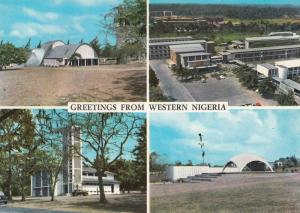 Greetings From Western Nigeria 1970s Postcard
